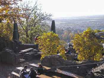 Burgruine Windeck in Weinheim