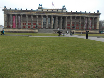 Altes Museum in Berlin Berlin