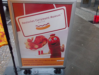 Deutsches Currywurst Museum in Berlin