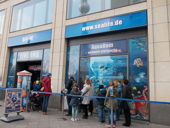 Sealife in Berlin Berlin