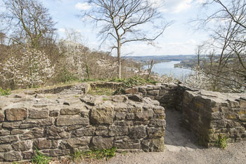 Ruine Isenburg in Essen Nordrhein-Westfalen