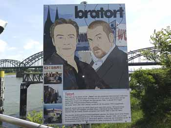 Tatort-Wurstbraterei in Köln